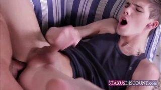 Gay Teen Enjoys Studs Big Cock